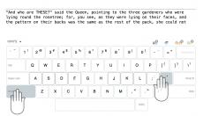 Как научиться печатать не глядя на клавиатуру