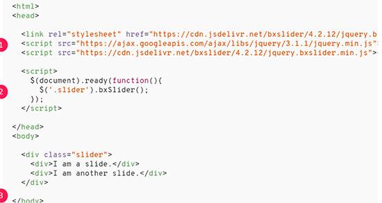 Bxslider - настройки и примеры