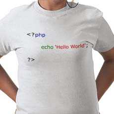 Hello World на PHP